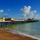 After The Fire - Hastings Pier by Bel Menpes