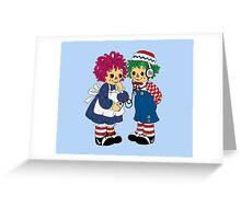 Precious Moments Blue Greeting Card