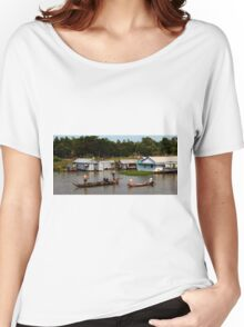A Floating Community - Viet Nam Women's Relaxed Fit T-Shirt