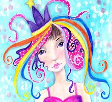 Whimiscal Party Girl by Judy Skowron
