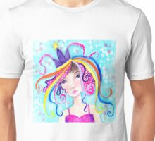 Whimiscal Party Girl Unisex T-Shirt