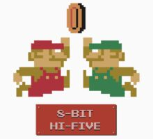 8-Bit Hi-Five One Piece - Short Sleeve