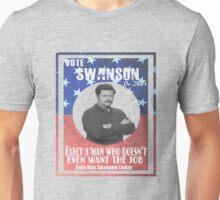 Vote ron swanson! Unisex T-Shirt