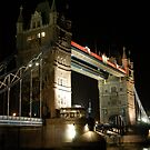 Tower Bridge Night by Ken Scarboro