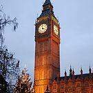 Big Ben Night by Ken Scarboro