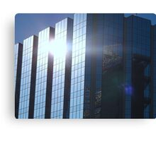 Corporate Reflections Canvas Print