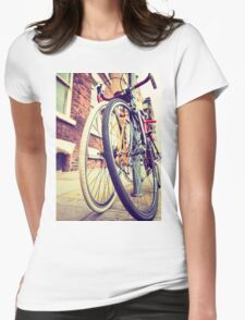 Bicycles Womens Fitted T-Shirt