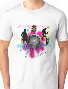 music-party night Unisex T-Shirt