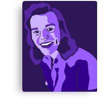 Purple Harry Styles Canvas Print