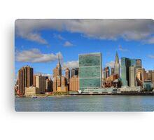 Manhattan - Gantry Plaza Canvas Print