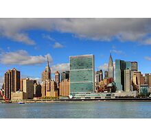 Manhattan - Gantry Plaza Photographic Print
