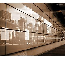 Reflections - Brisbane City Photographic Print