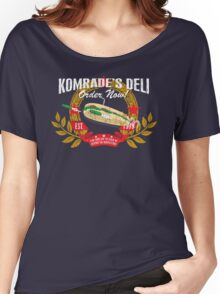 Komrade's Deli Women's Relaxed Fit T-Shirt