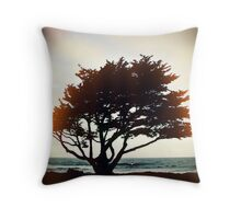 the warmth of this night glows with my soul Throw Pillow