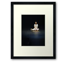 To Gain Trust of a Performance Artist Framed Print