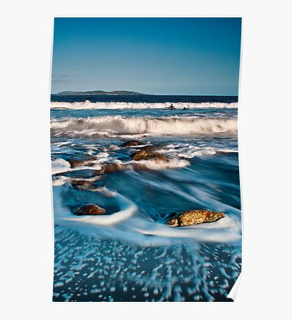 Surfers, BlackmansBay, Tasmania Poster
