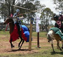 Jousting by louisegreen