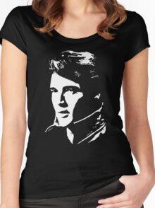 a elvis t-shirt Women's Fitted Scoop T-Shirt