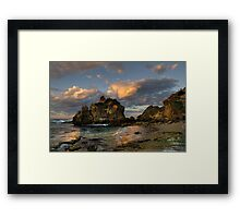 Sunrise at The Crags Framed Print