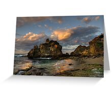 Sunrise at The Crags Greeting Card