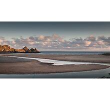 Three Cliffs Bay Swansea Photographic Print