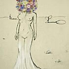 head-o-flowers by eleveneleven