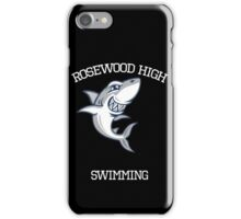 Rosewood Sharks; Swimming iPhone Case/Skin