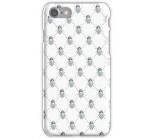 Little Silver Beetle Pattern iPhone Case/Skin
