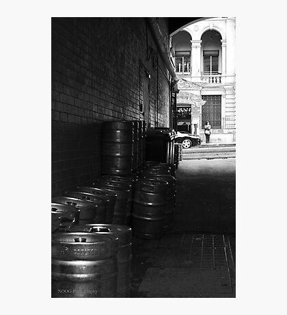 Keg Alley Photographic Print