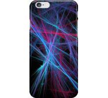 Dreamy blazing colorful lines iPhone Case/Skin