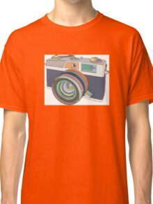 Vintage old photo camera Classic T-Shirt
