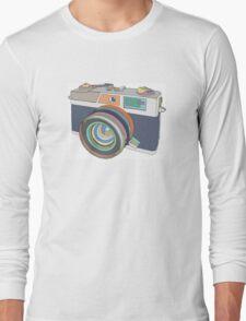 Vintage old photo camera Long Sleeve T-Shirt