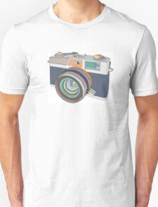 Vintage old photo camera Unisex T-Shirt