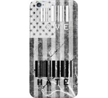 Love and Hate #2 iPhone Case/Skin