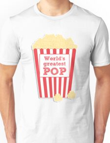 World's greatest Pop - Father's Day Unisex T-Shirt