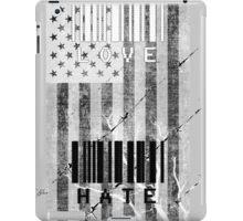 Love and Hate #2 iPad Case/Skin