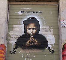 graffiti jersey city by A.S. Municino