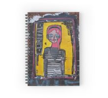 brick lane graffiti,liminal Spiral Notebook