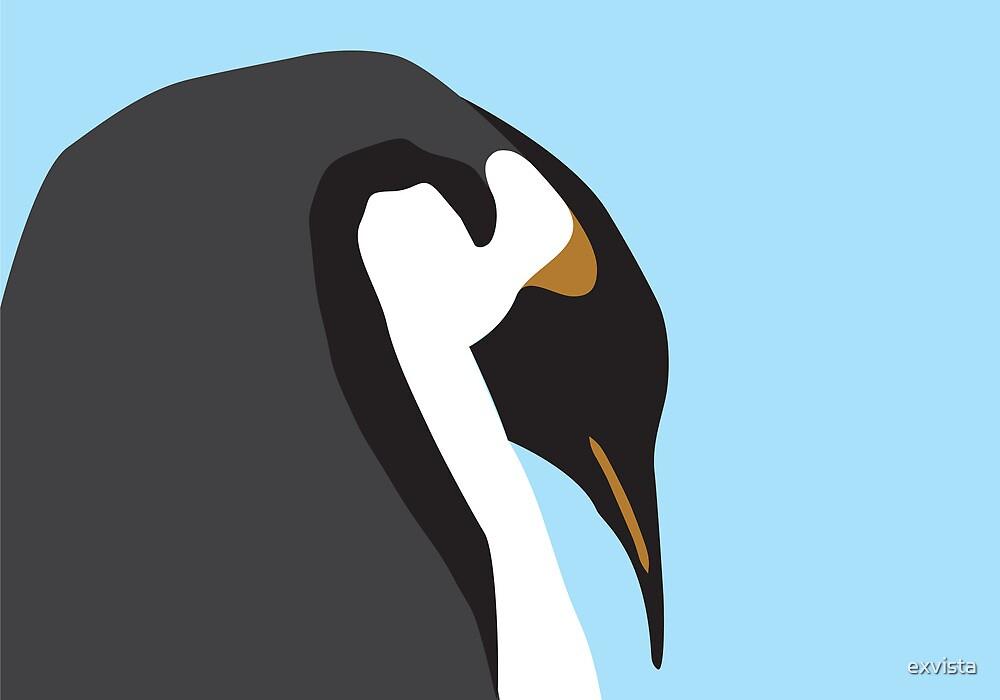 Big Penguin by exvista