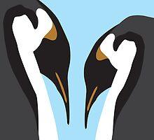 Penguin Pair by exvista