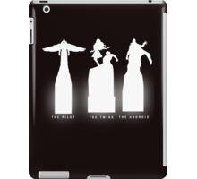 Silhouette Superheroes iPad Case/Skin