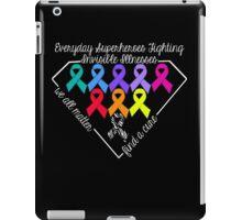 Everyday Superheroes - Invisible Illnesses iPad Case/Skin