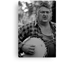 Banjo-man - aka MarkyB Canvas Print