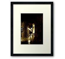 Where The Streets Are Paved With Gold Framed Print
