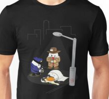 Homicide for Breakfast Unisex T-Shirt