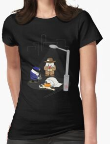 Homicide for Breakfast Womens Fitted T-Shirt