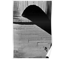 abstract quai Seine Paris #1 Poster