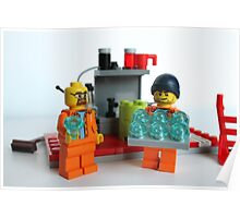 Breaking bad lego  Poster