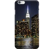Empire State  Building - Gantry Plaza Night iPhone Case/Skin