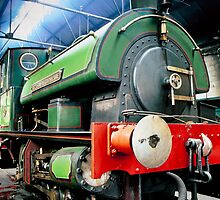 Steam engine - Sir Cecil A Cochrane by Kevin Allan